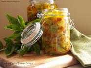 Italian Green Tomato Pickles 